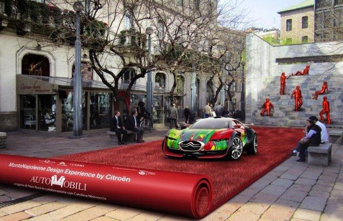 Citro n e il salone del mobile 2012 for Il salone del mobile
